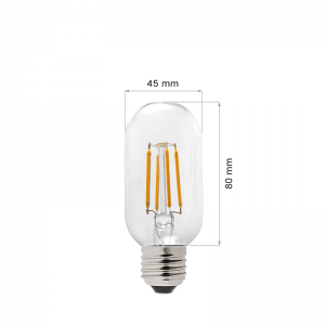 LED LAMP FILAMENT E27 4W T45-0