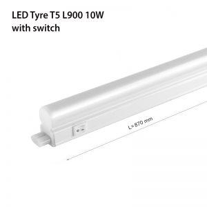 LED TYRE T5 L300 10W 5000K switch-0