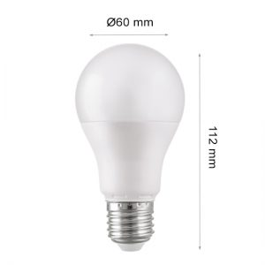 LED LAMP CAP GLOBE E27 5W 4000K-0