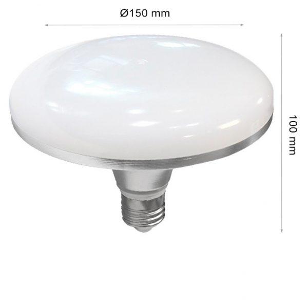 LED LAMP CAP SATELLITE E27 36W 4000K-0
