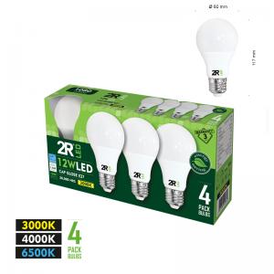 LED lamp CAP Globe E27 12W 3000K 4 pcs.-0
