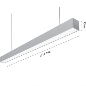 LED LIGHT SONATA 40W 4000K-0