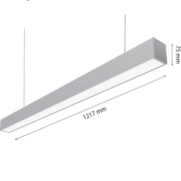 LED LIGHT SONATA 40W 4000K-0