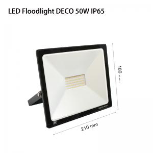 LED FLOODLIGHT DECO 50W 2700K-0