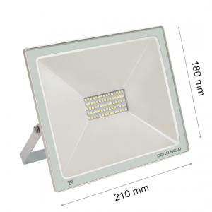 LED FLOODLIGHT DECO 50W IP65 WHITE PROMO-0