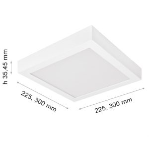 LED DOWNLIGHT CAPRI S180 20W OM-0