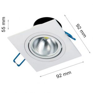 LED DOWNLIGHT HILUX FTS 5W Wh S-0