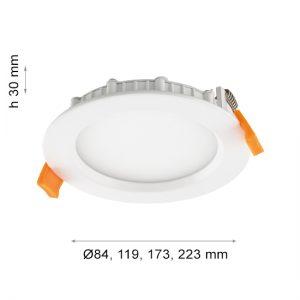 LED PANEL FSL 1106 R 12W-0