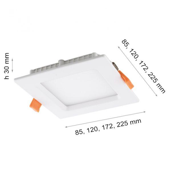 LED PANEL FSL 1106 S 12W-0
