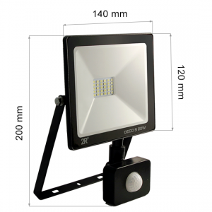 LED FLOODLIGHT SENSOR DECO 20W-0