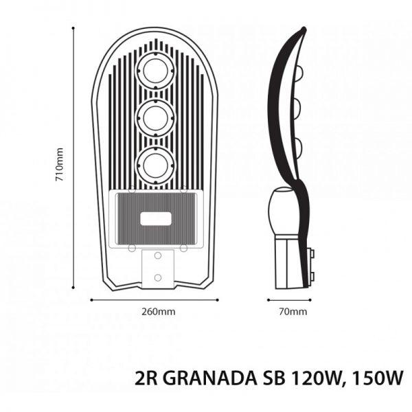 LED STREET LIGHT GRANADA SB 120W-5537