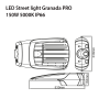 LED STREET LIGHT GRANADA PRO 65W-5548