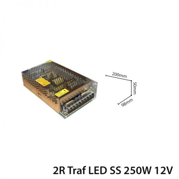 LED TRANSFORMER 250W DC 12V IP20-0