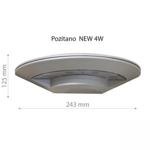 LED Wall lamp POZITANO NEW 4W-0