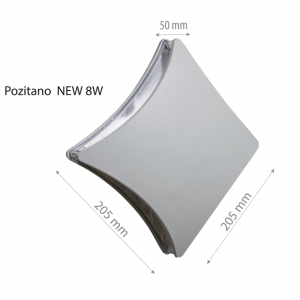 LED Wall lamp POZITANO NEW 8W-0
