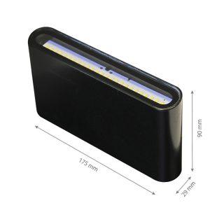 LED Wall light SIERRA W31 10W-0