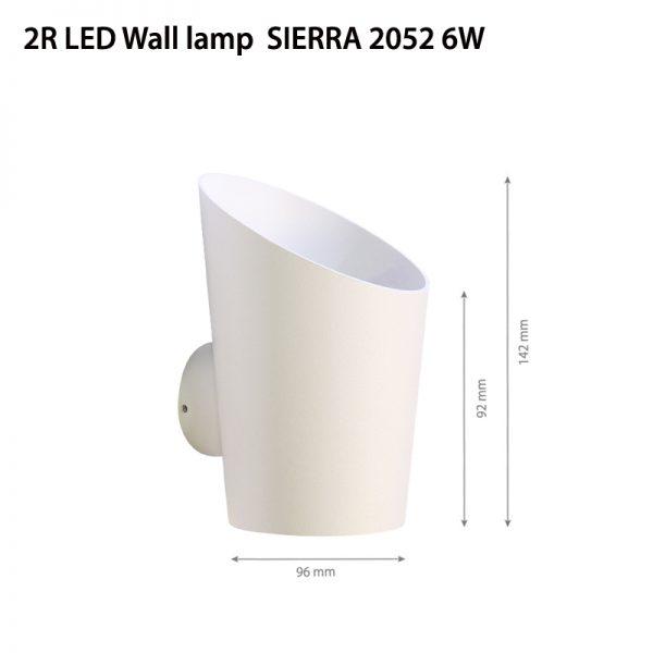 LED Wall light SIERRA 2052 6W-0