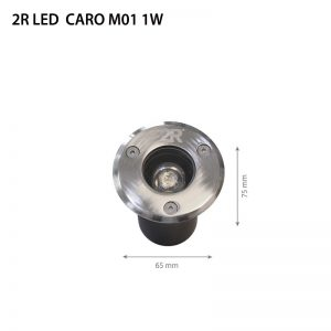 LED CARO M01 1W DC12V IP67-0