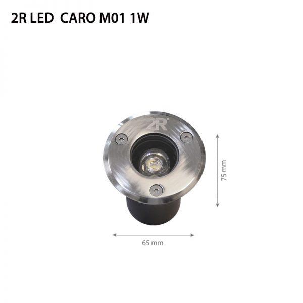 LED CARO M01 1W DC12V IP67-0