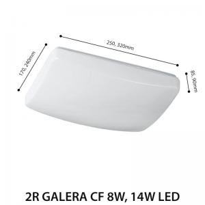 LED CEILING LAMP GALERA CF 8W-0