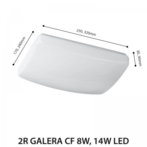 LED CEILING LAMP GALERA CF 14W-0