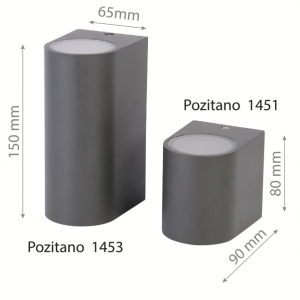 LED Wall lamp POZITANO 1451 5W-0