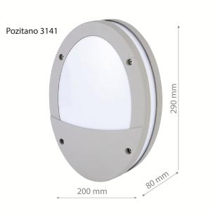 LED Wall lamp POZITANO 3141 18W-0