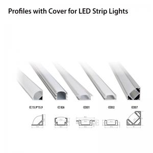 Aluminium profile СС031 PVC cover-0