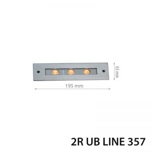 LED TERRA UB Line357 6W DC24V 6000K IP67-0