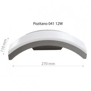 LED Wall lamp POZITANO 041 12W-0